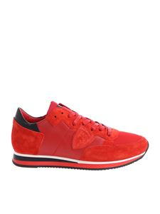 "Philippe Model - Red ""Tropez L"" sneakers"