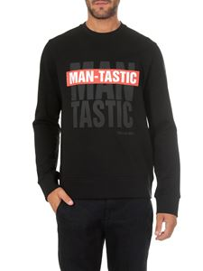 Neil Barrett - Man Tastic black sweatshirt