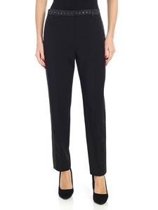Karl Lagerfeld - Black trousers with studs