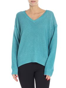 Majestic Filatures - Green water cashmere sweater