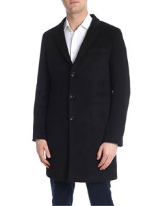 PS by Paul Smith - Cappotto tre bottoni nero