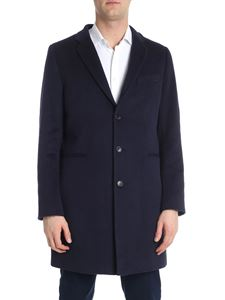 PS by Paul Smith - Cappotto tre bottoni blu