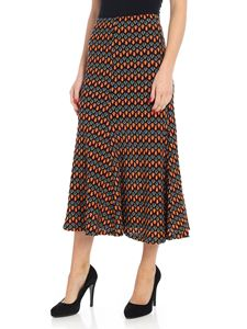 "Beaufille - Multicolor ""Bona"" crochet skirt"
