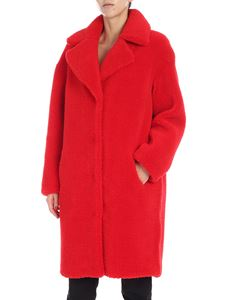"Stand Official - Red ""Camille Coocon"" coat"