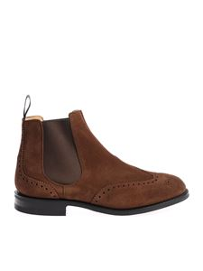 "Church's - Brown ""Ravenfield"" Chelsea boots"