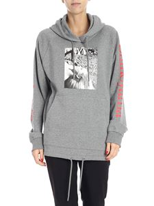 OPENING CEREMONY - Grey sweatshirt with photo print