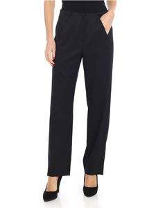 MM6 by Maison Martin Margiela - Trousers with black front pockets