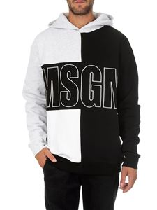 MSGM - Cotton sweatshirt with logo