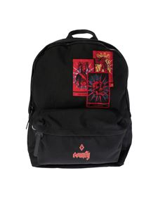 "Marcelo Burlon - Black ""Tarot"" backpack"