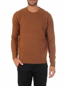 Dondup - Brown wool and cashmere pullover