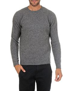 Dondup - Grey wool and cashmere pullover