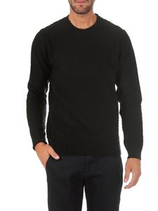 Dondup - Black wool and cashmere pullover