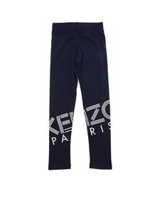 Kenzo - Blue leggings with logo