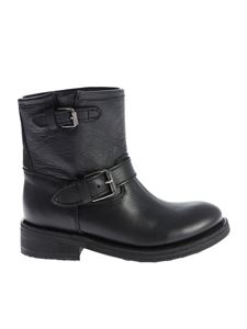 "Ash - Black ""Tears"" ankle boots"