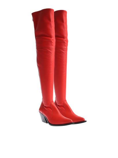 Givenchy - Red tex cuissard