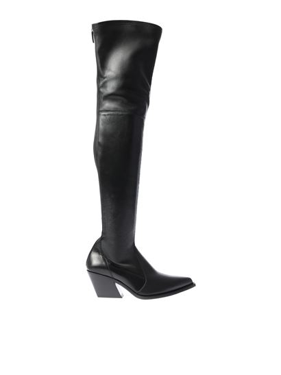 Givenchy - Black tex cuissarde