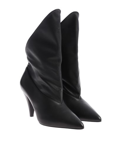 Givenchy - Black pointed ankle boots