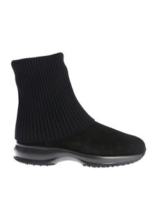 "Hogan - Black ""Interactive"" ankle boots"