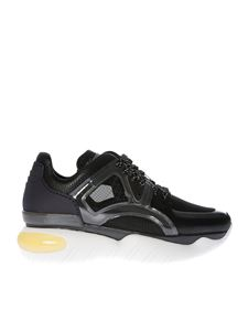 Fendi - Black sneakers with rubber details