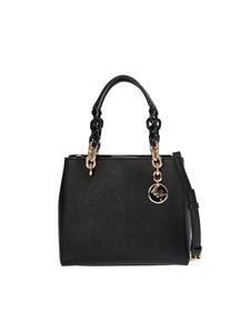 "Michael Kors - ""Cynthia"" black leather bag"