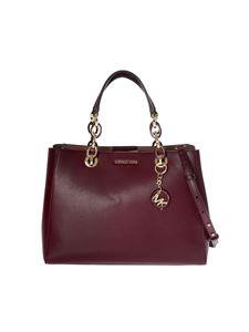 "Michael Kors - ""Cynthia"" burgundy bag"
