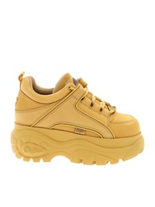 Buffalo London - Buffalo Classic chunky sneakers in ocher yellow