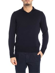Zanone - Blue virgin wool pullover