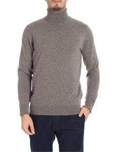 Drumohr - Gray cashmere turtleneck