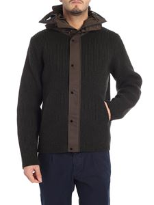 CP Company - Green knitted jacket