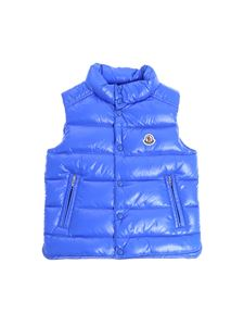 "Moncler Jr - Blue ""Tib"" down jacket"