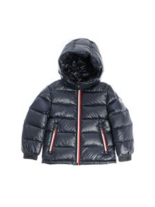 "Moncler Jr - Blue ""Gastonet"" down jacket"