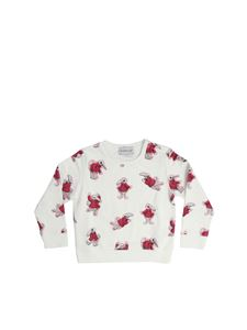 Moncler Jr - Cream-colored printed pullover