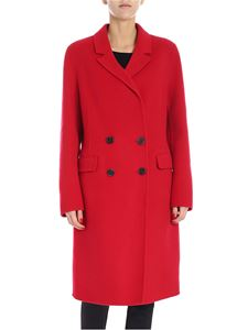 "Pinko - Red ""Muzio"" coat"