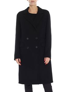"Pinko - Black ""Muzio"" coat"