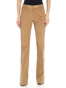 Michael Kors - Pantalone in corduroy color cammello