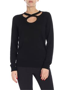 Michael Kors - Black sweater with cut-out details