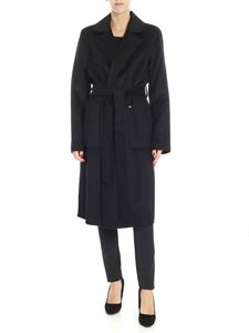 Michael Kors - Black coat with patch pockets