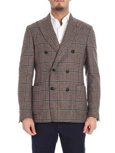 Lardini - Prince of Wales brown and green jacket
