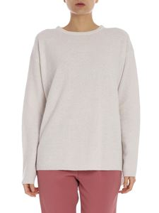 Aspesi - Ice-colored crewneck pullover