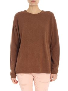 Aspesi - Brown crewneck pullover