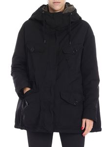 "Aspesi - Black ""Sorbole"" down jacket"