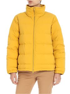 "Aspesi - Yellow ""Tarallo"" down jacket"