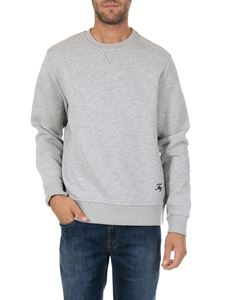 Fay - Grey sweatshirt with logo