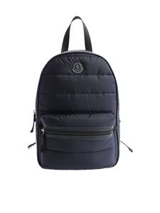 "Moncler Jr - Blue ""Petit George"" backpack"