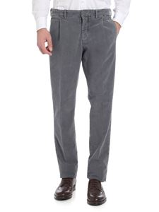 Incotex - Gray fustian trousers