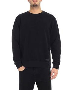 "Edwin - Black ""Nicki"" crew-neck sweatshirt"