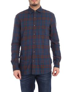 Aspesi - Blue flannel shirt