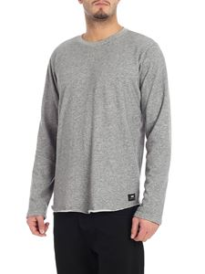 "Edwin - Gray ""Terry"" crew-neck sweatshirt"