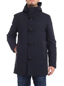 "RRD Roberto Ricci Designs - Blue ""Winter Montgomery"" down jacket"