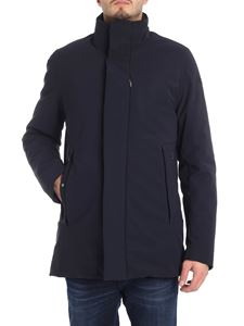 "RRD Roberto Ricci Designs - Dark blue ""Winter Crew"" down jacket"